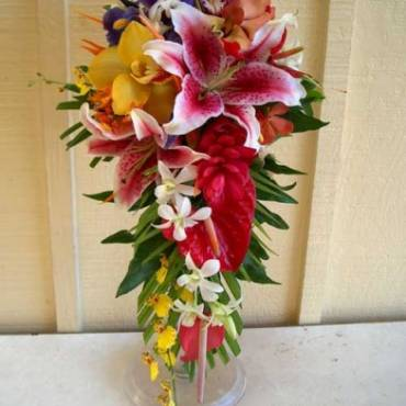 Cascading Bouquet 2