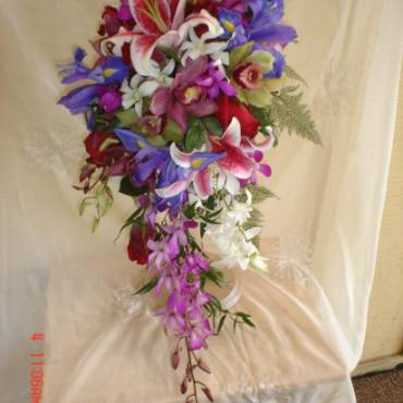 Cascading Bouquet 7