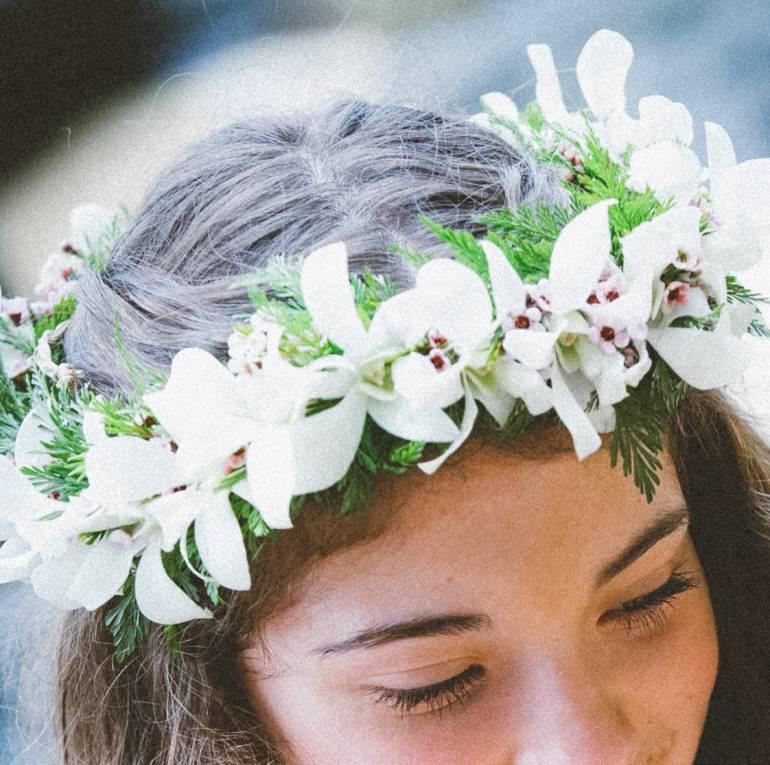 Haku & Flower Leis