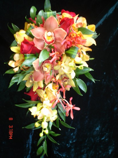 Cascading Bouquet 1