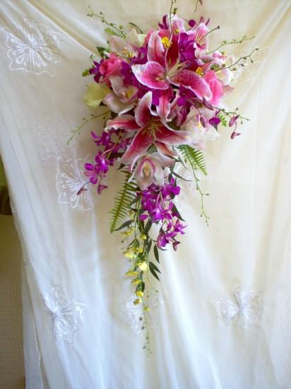 Cascading Bouquet 6