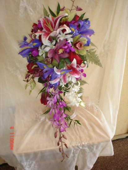 Cascading Bouquet 7